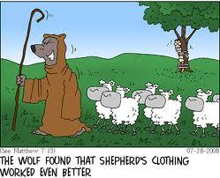 Wolf as Shepherd
